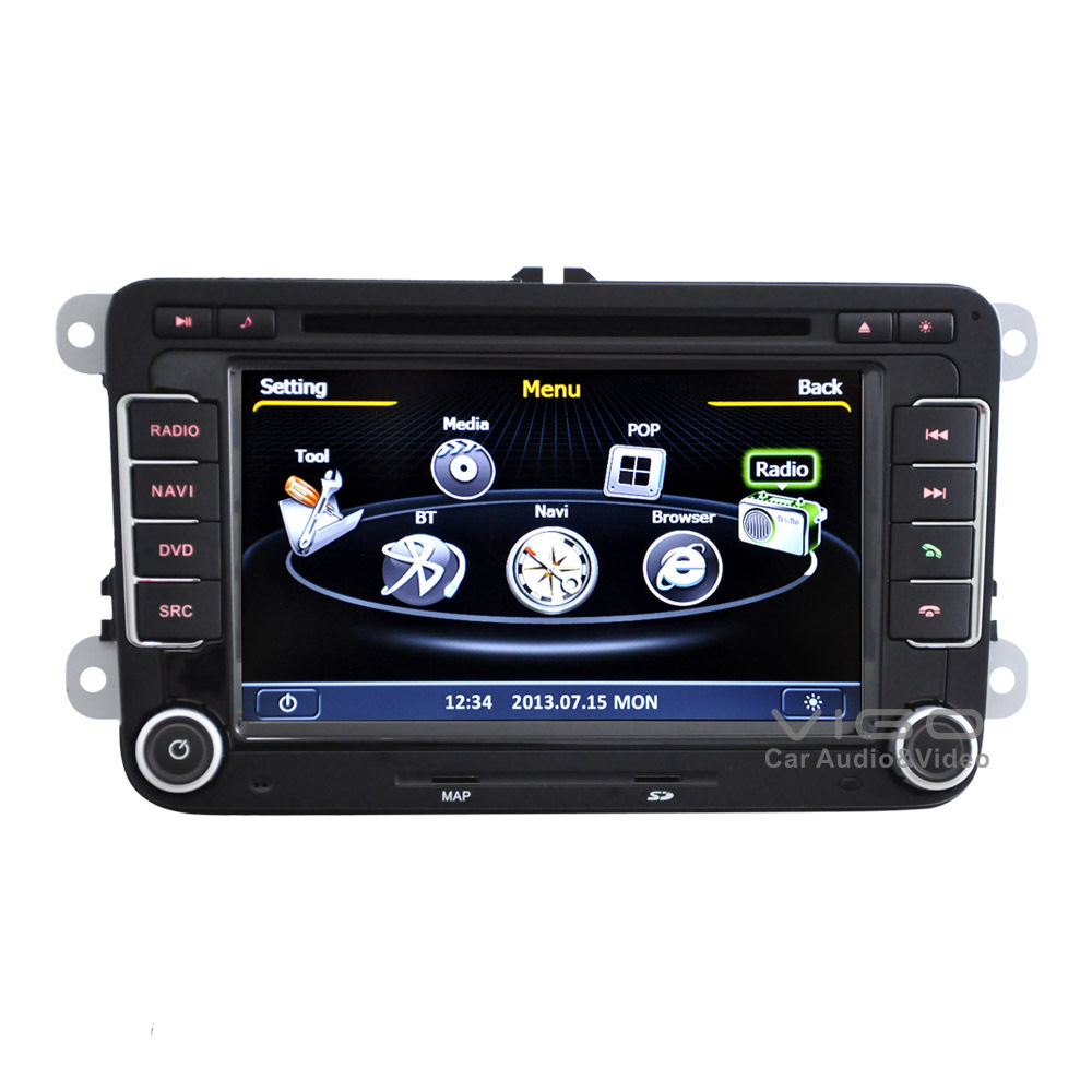 car stereo gps navigation for vw volkswagen passat b6 b7. Black Bedroom Furniture Sets. Home Design Ideas