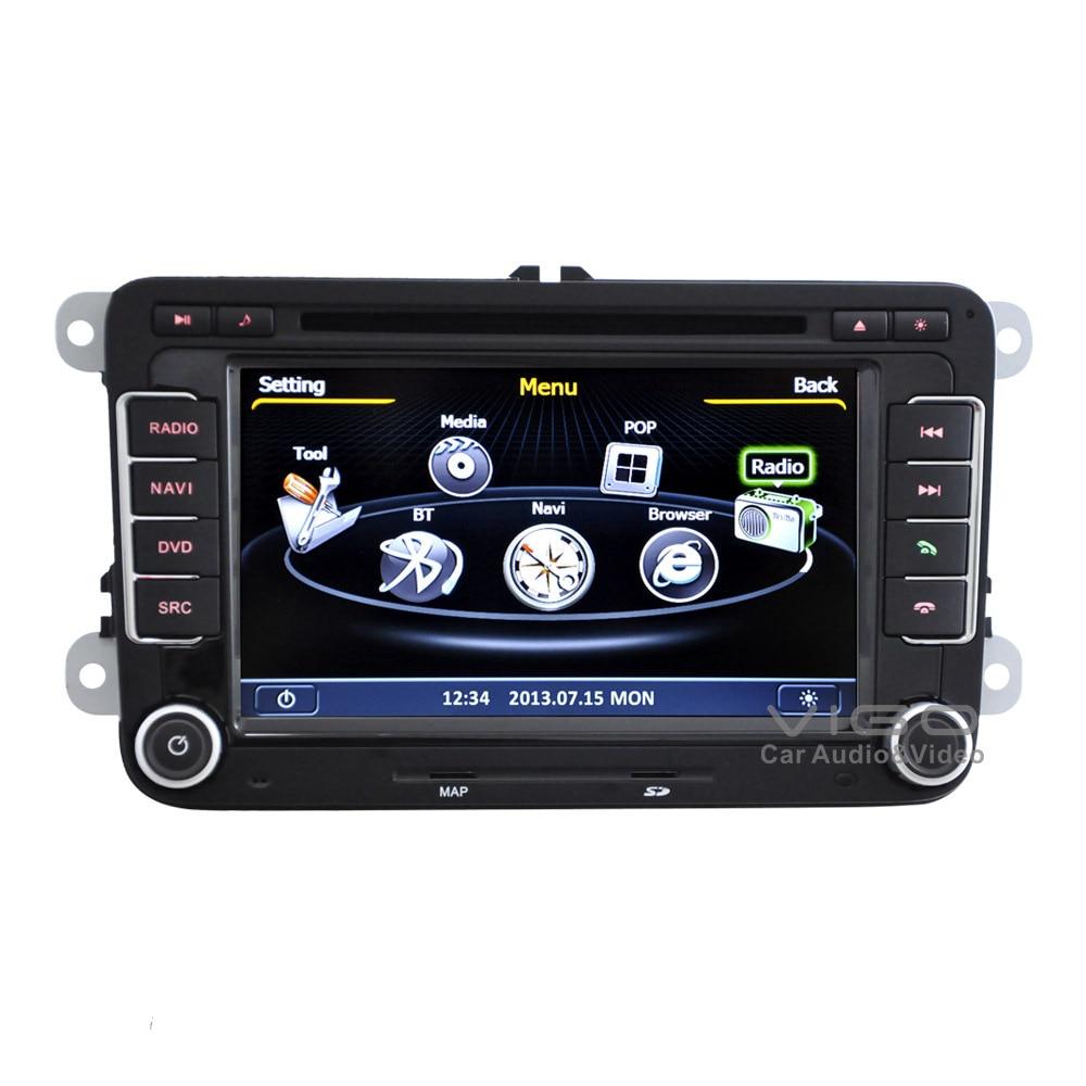 Car Stereo GPS Navigation for VW Volkswagen Passat B6 B7 ...