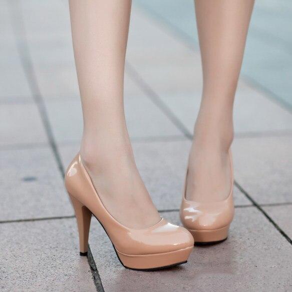 Aliexpress.com : Buy Womens Wedding Bridal High Heels Platform ...