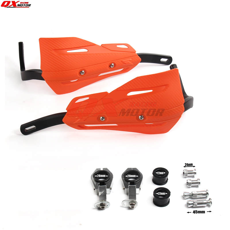 Image 3 - Motorcycle Handguard Hand Guard for klx RMZ CRF YZF KTM SX EXC XCW SMR Dirt Bike ATVS Motocross Enduro-in Falling Protection from Automobiles & Motorcycles