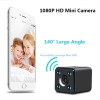 HD 1080P Wireless AP IP Camera Mini 140 angle Monitor night vision Motion Detect Camcorders micro Cam Max 128G VS SQ13 SQ23 SQ11