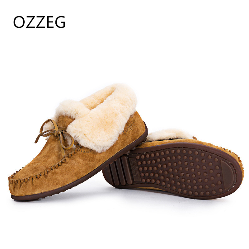 Women Winter Boots Fashion Ankle Snow Boots Female Warm Real Fur Plush Insole High Quality Botas Slip on Mujer hand made shoes ms noki fur women winter metal star platform female slip on ankle boots warm snow boots ladies flock shoes woman botas size hot