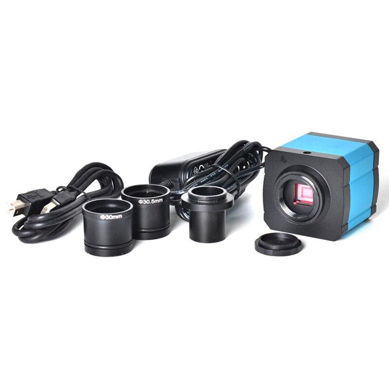 Indústria 14Mp Hdmi 1080P Hd Usb Digital Microscope Camera Cartão Tf Câmera De Vídeo Microscópio/Plug Eua - 2