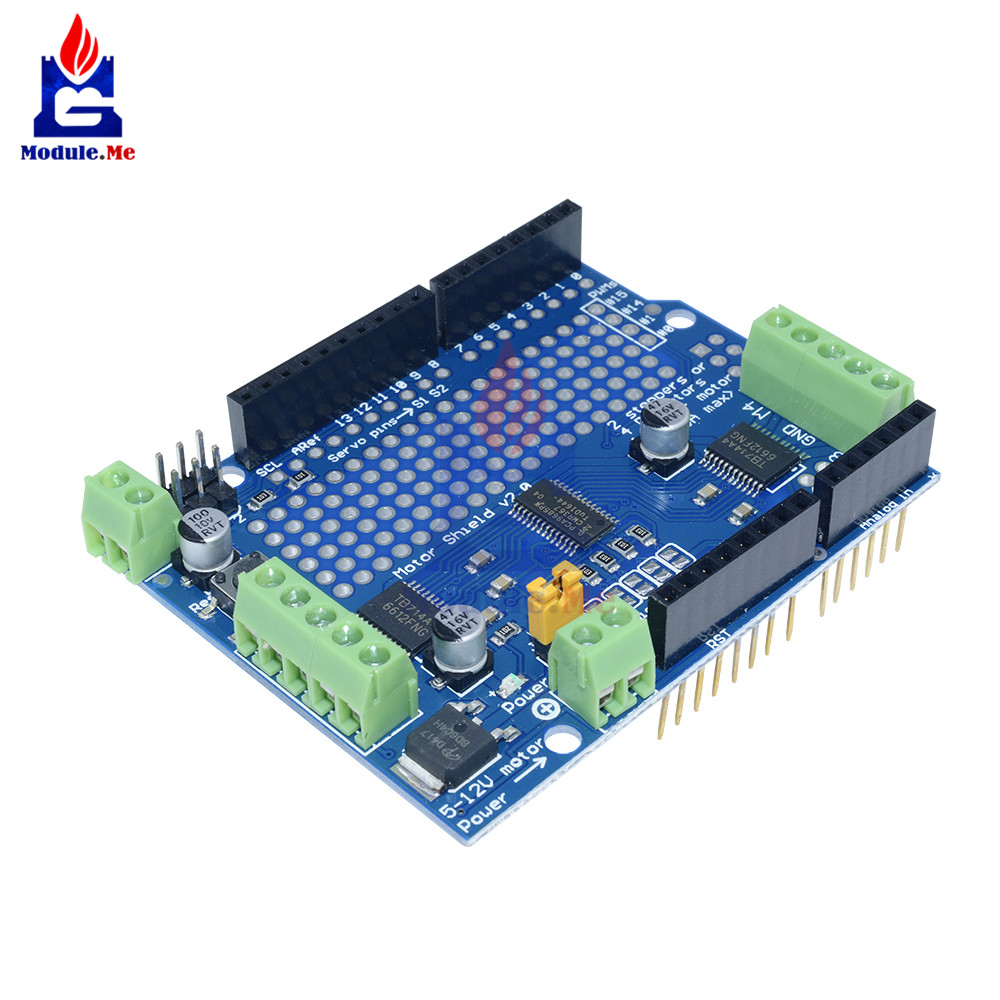 I2C PCA9685 For Arduino 16CH 16 Channel 12-bit PWM Servo Drive Shield Board