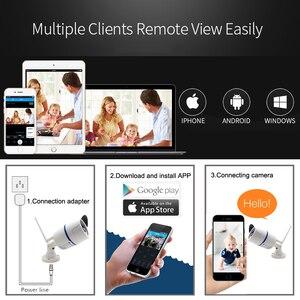 Image 2 - Ip 카메라 와이파이 1080 p 야외 960 p 720 p cctv 보안 비디오 무선 onvif 2mp 감시 오디오 ipcam 나이트 비전 홈 카메라