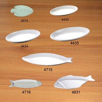 Imitation Porcelain Melamine Dinnerware Dinner Plate Fish Dish Chinese Restaurant Melamine Plate A5 Melamine Tableware фото