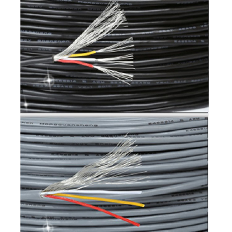 Free shipping 10M UL2547 Shielded wire 22/24/26/<font><b>28AWG</b></font> 2core / 3core/4core/Signal Audio shielding <font><b>cable</b></font> image