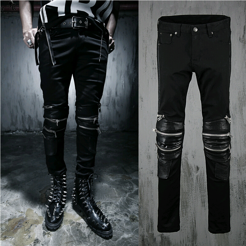 Black designer jeans men – Global fashion jeans collection
