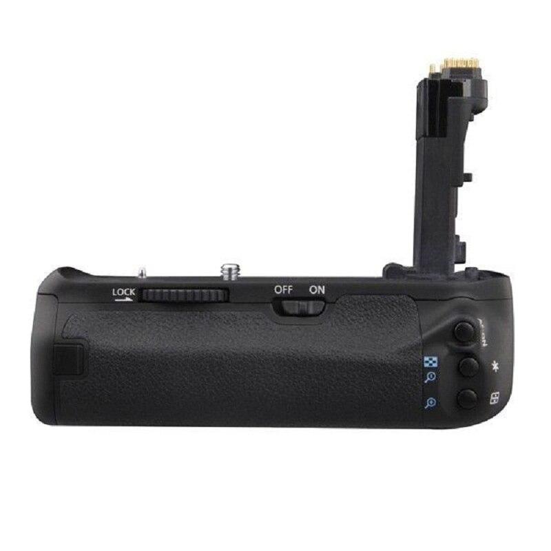 Professional Multi-power Vertical Camera Battery Holder Grip for Canon EOS 70D DSLR BGE14 BG-E14 kingma bg e14 pro multi power 2 step vertical shutter battery grip holder for canon eos 70d dslr digital slr camera