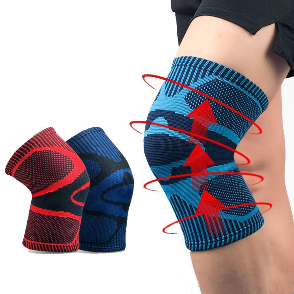 Non-Slip Knee Brace Compression Knee Sleeve Sports Knee Pad Running Fitness