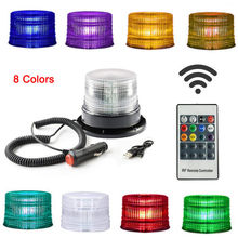 hot deal buy car lights 30 led magnetic strobe light with remote control rgb emergency beacon lights police lights