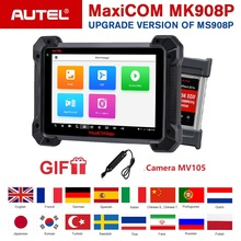 Testeur d'ecu Autel MaxiCom MK908P OBDII programmation OBD2 outil de Scanner de Diagnostic automatique J2534 programmeur PK Maxisys Elite MS908P Pro