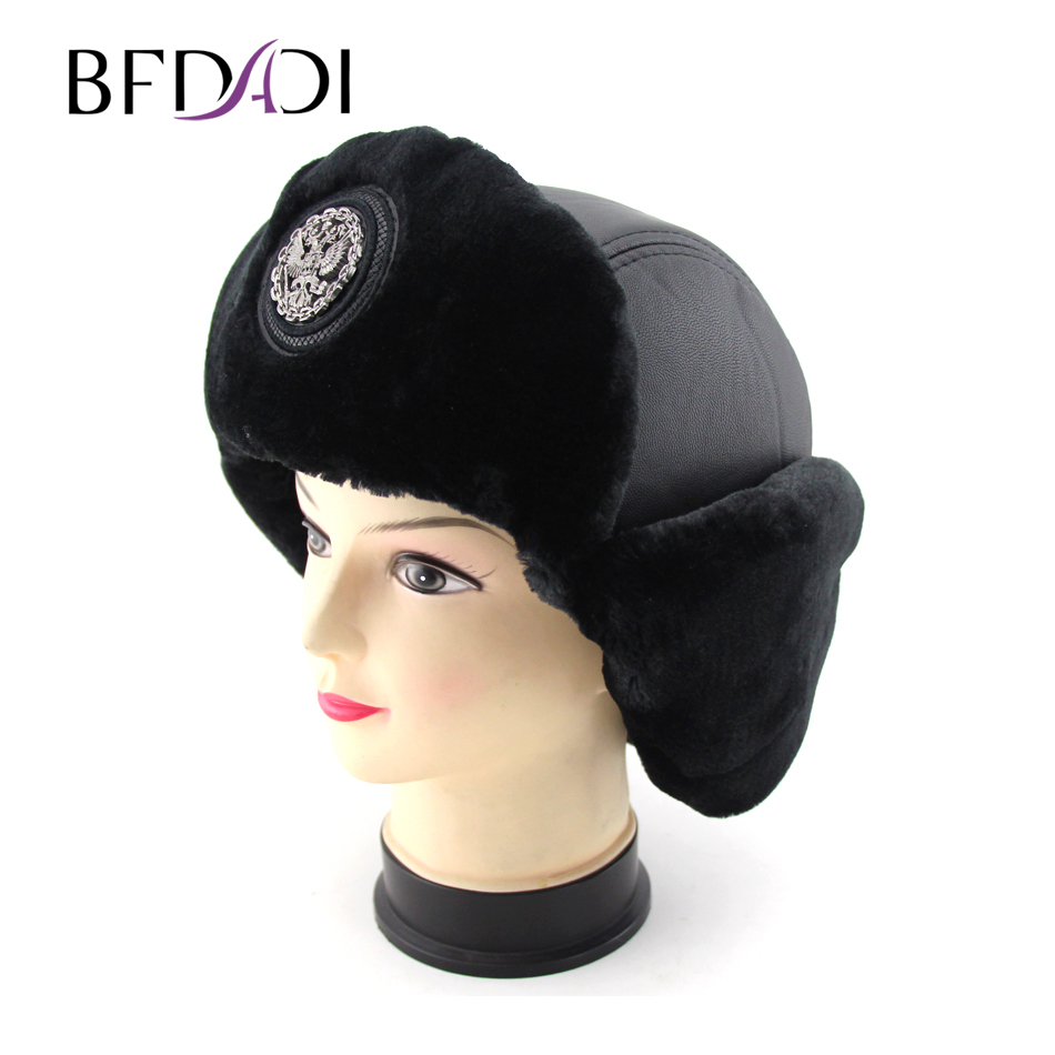 a136617f064 Bomber hat female winter hats for men women thick warm russian jpg 950x950 Snow  hats with