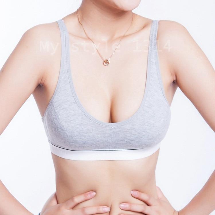 New Fashion Women 100% Cotton Bust Push Up Bra Underwear Bra 70 75 80 85 Size (32 34 36 38) худи xxxtentacion