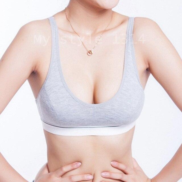 f81a4da3dc111 New Fashion Women 100% Cotton Bust Push Up Bra Underwear Bra 70 75 80 85  Size (32 34 36 38)-in Bras from Underwear   Sleepwears on Aliexpress.com
