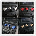 3Pcs/Set Car Styling Aluminum Steering Center Molding Control Panel AC Button Cover Sticker For Suzuki Jimny Car Accessories New