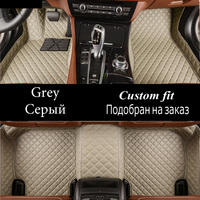 Car floor mats for Audi A1 A4 A6 A7 A8 Q3 Q5 Q7 TT 5D car styling heavy duty all weather carpet floor liner
