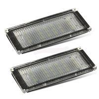 Para bmw série 3 e46 lâmpada de luz da placa licença 12v 3w conjunto universal