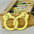 Oro Esposas Collar Nombre Collar Iniciales Personalizadas Encanto Dulce Parejas Joyería Amor Sólo Para Su Día de San Valentín