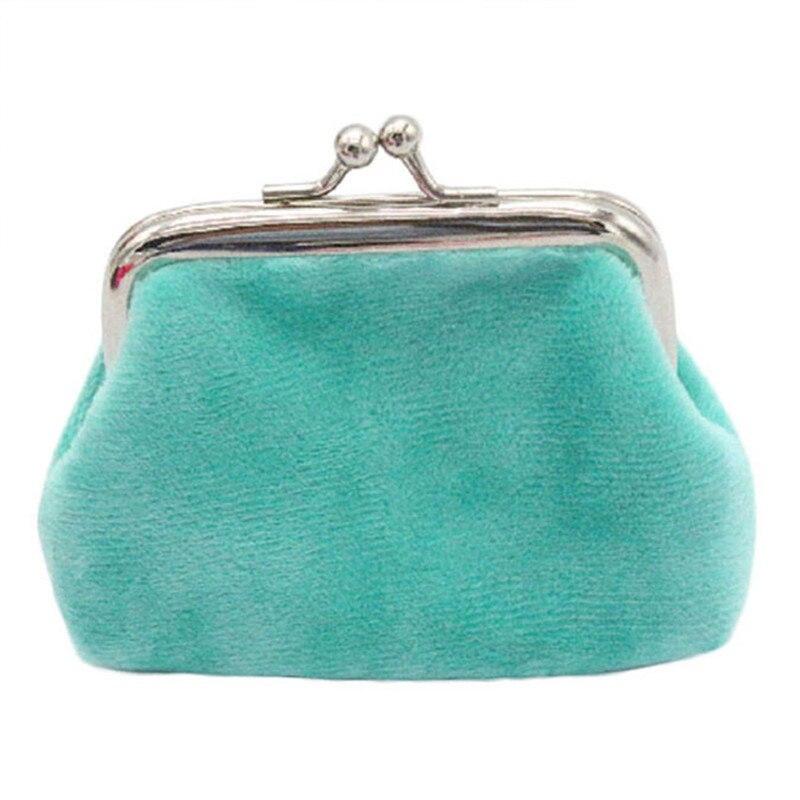 Cheap Price Ladies Girl Coin Purse Womens Corduroy Small Wallet Card Holder Hasp Coin Purses Clutch Handbag Bag 2017 Hot Sale