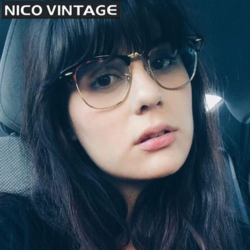 Para estrenar super calidad obtener online Optiacl Marco Semi Sin Montura de gafas Anteojos Gafas ...