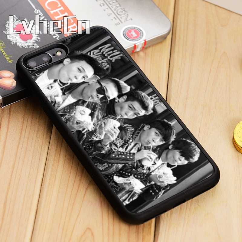 LvheCn Bigbang 18K 韓国の男の子電話ケースカバー iphone 5 6s 7 8 プラス 11 pro X XR XS 最大サムスン S7 エッジ S8 S9 S10