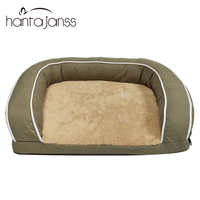 Pet Sofa Dog Beds For Large Dogs Thicken Warm Fleece Cat Bed House Winter Dog Sofa Golden Retriever