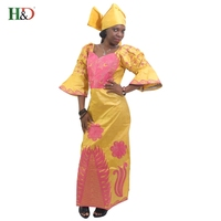 2016 African Fashion Designs Bazin Riche Lady S Traditional Maxi Dress Fabric Dashiki Africa Dresses For