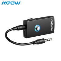Mpow MBT3 2 In 1 Streambot Wireless Bluetooth Speaker Audio Music Streaming Switchable Transmitter Receiver for Speakers TV Car