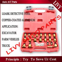 Automotive klimaanlage leck werkzeuge ac lecksuche Für Bagger/Landwirtschaft fahrzeug/Lkw/Traktor-in Klimaanlage aus Kraftfahrzeuge und Motorräder bei