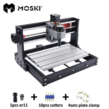 CNC 3018 Pro, bricolage cnc machine de gravure, Pcb fraiseuse, gravure laser, GRBL contrôle, cnc graveur, cnc laser,cnc 3018 Pro