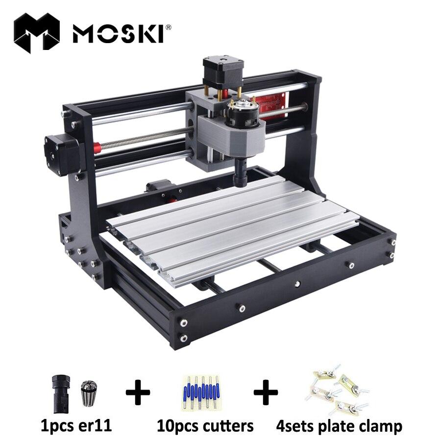 CNC 3018 Pro, diy máquina de gravura do cnc, Fresadora Pcb, gravação a laser, GRBL controle, gravura do cnc, a laser, cnc 3018 Pro