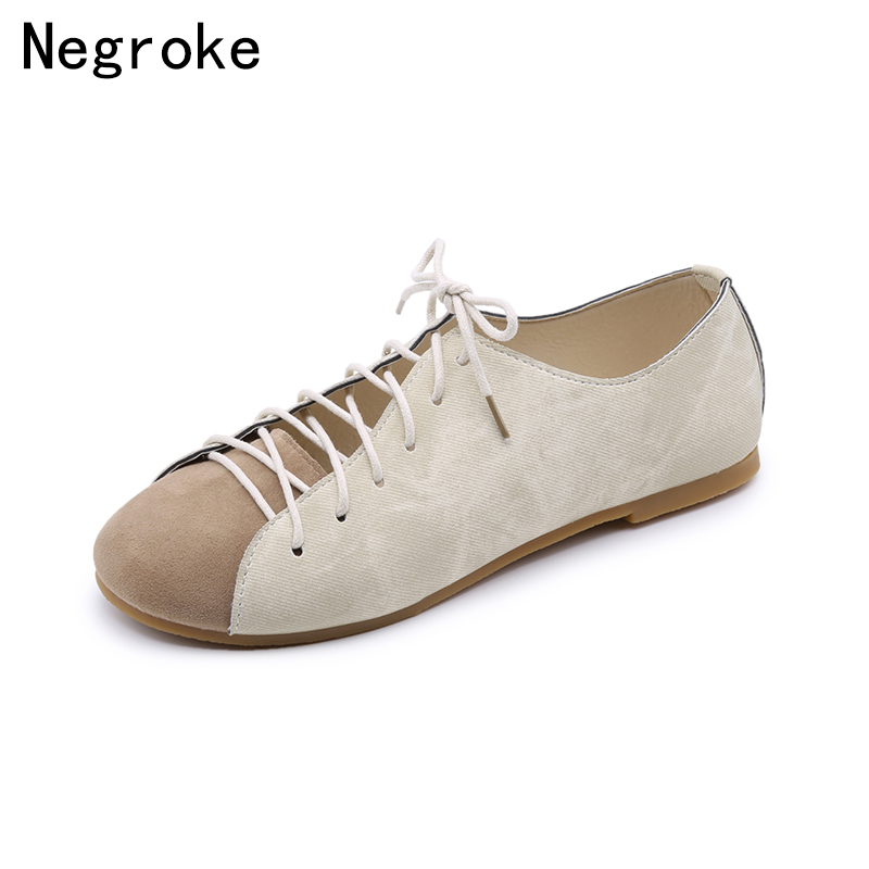 цены New Arrival Two Uses Women Loafers Flats Sandals Lace Up Leather Stitching Ladies Driving Shoes Female Sandalias Zapatos Mujer