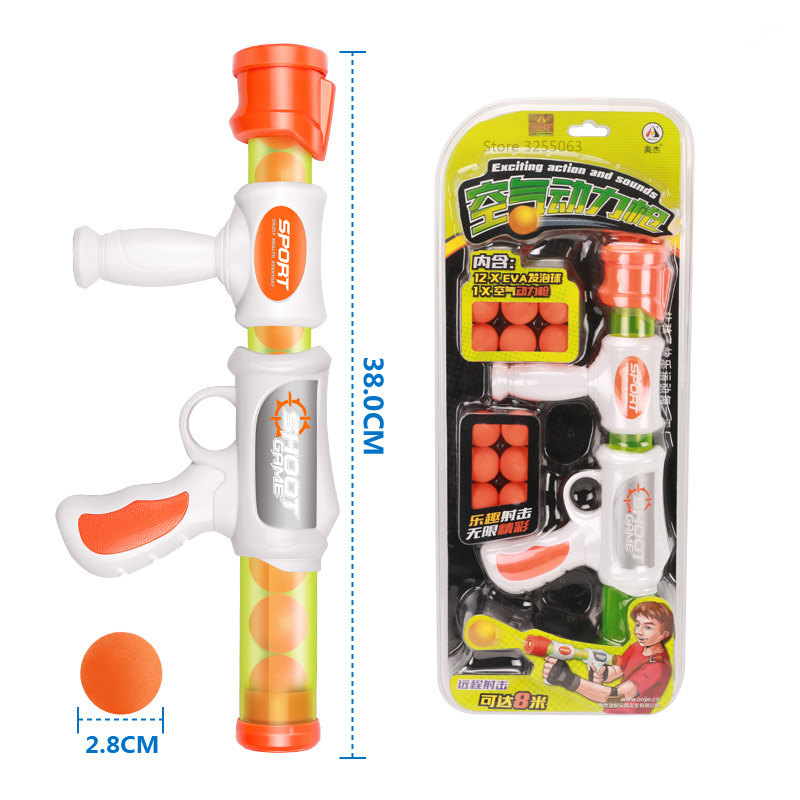 Soft Bullet Pistol Gun Shooting Toy Airsoft Air Guns Gifts Boys Outdoor Fun Sports For Kids