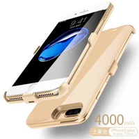 5pic Ultra Thin Large Capacity Portable 4000 MAh Clip Mobile Power For The IPhone6 6s 7