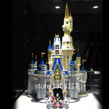 Real Photo New 4080pcs LEPIN 16008 Creator Cinderella Princess Castle City Model Building Minifigure Block Kid Toy Gift 71040