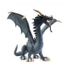 Figuras de acción de Pterosaurio del Dragón Azul occidental, juguetes de simulación de jurásico, modelo de dinosaurio, decoración del hogar de PVC