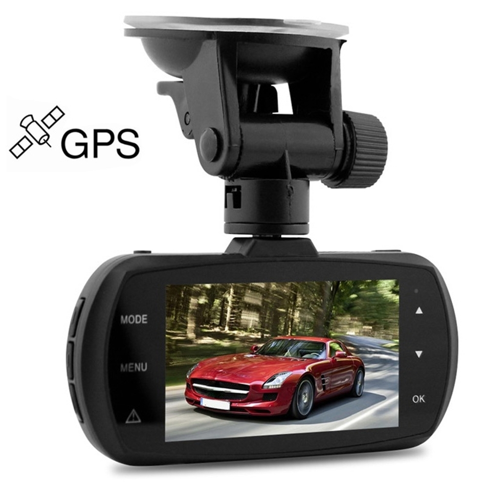 цена на 2016 Newest D201 Car DVR 2.7 inches LCD Ambarella A12 Super HD 1440P H.264 170 Degree View Angle Night Vision with GPS Tracking