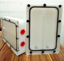 Bykski Специальные зарядки Хладагент 3 отверстия Танк использовать для жесткий диск местоположение Размеры 150*102*27 мм Акриловая жидкость объем бака 120 мл