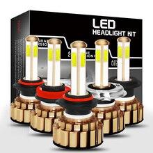 H7 H8/H9/H11 HB3/9005/H10 HB4/9006 H4/9003/HB2 Hi/Lo COB Car LED Headlight Bulbs 80W 8000lm Car Auto Headlamp Led Lights Bulb set car fog light led headlights h7 80w 5600lm automobiles headlamp h8 h9 h11 hb3 9005 hb4 9006 h10 bulb auto front bulb