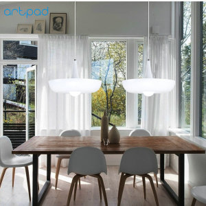 Image 3 - Artpad Nordic Babylon Plant Pendant Light AC90 260v E27 LED Living Room Garden Pendant Lamp for Dining Room Balcony Lighting