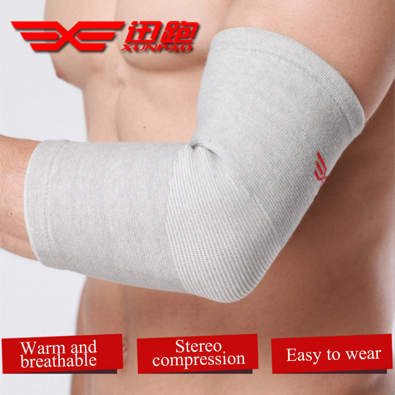 1 set Bamboo Charcoal Elbow Support Sports Safety Elbow Protector Protection Bandage Lengthen Absorb Sweat Elbow Pads Guard