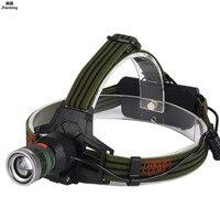 Led Headlight Outdoor Highlight Illumination Cap Lamp USB Charging Flashlight Zoom Headlamp for Fishing Lamp Hunting 18650