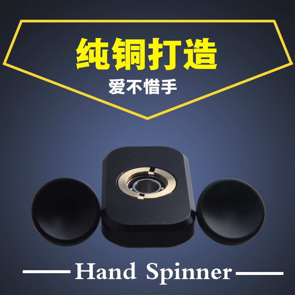 2017 New EDC Fidget Spinner Hand Spinner Metal Toys Pattern Superhero for ADHD Children Adults Education