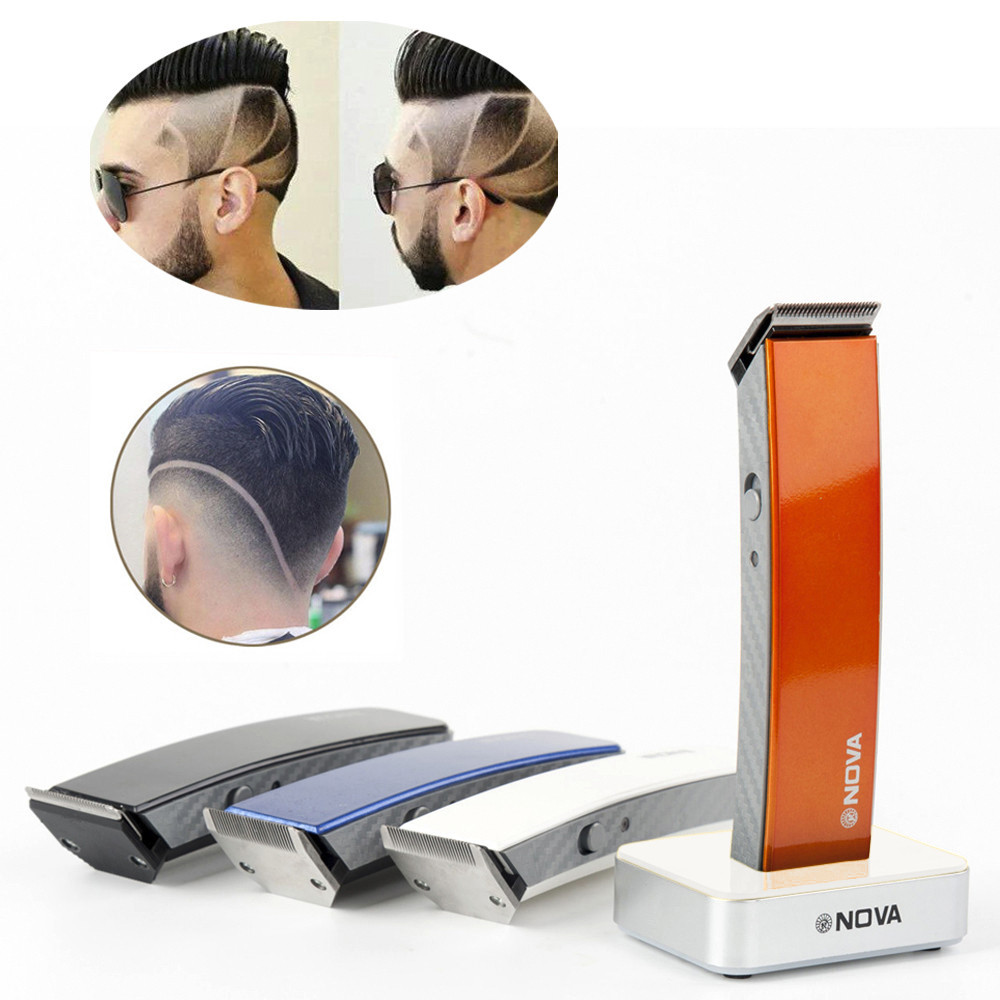 New Professional Men's Electric Shaver Beard Hair Clipper Electric Clipper Hair Rechargeable Hair Trimmer Wireless Shaver