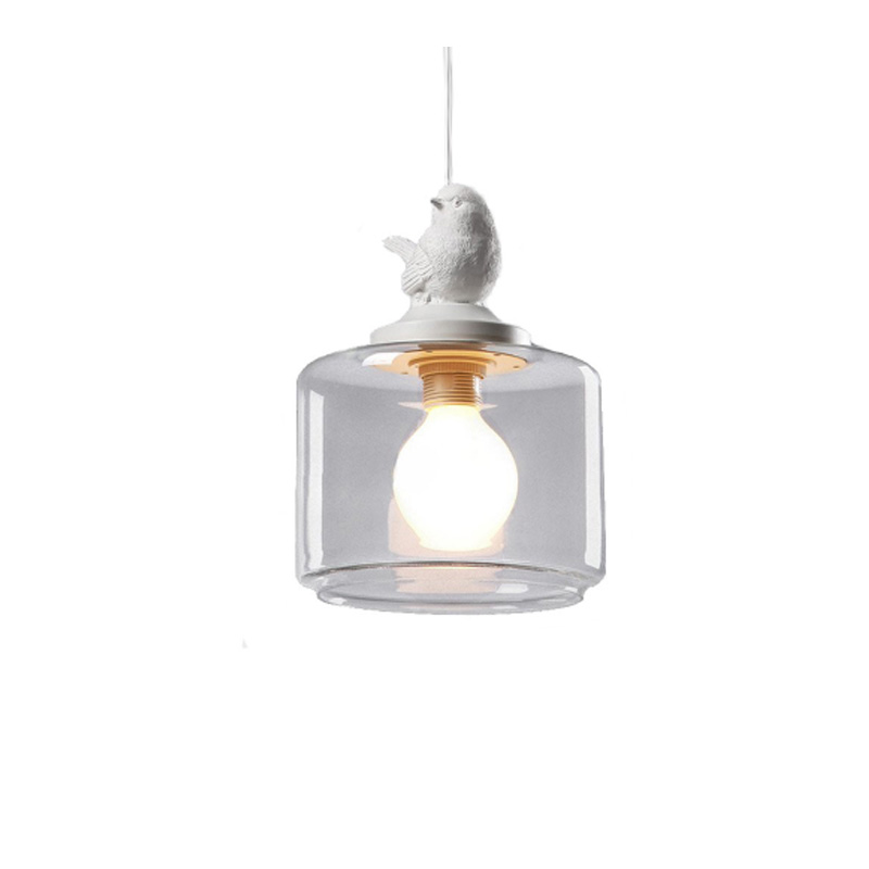 Vintage Lamp Glass Shade Bird Pendant Lights/Droplight Pendant Lamps With E27 Lights For Living Room/Bedroom/Living Room(DA-50) pendant lamp wooden nordic pendant lights droplight pendant lamps with led lights for living room bedroom living room study