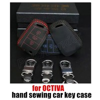 Factory Price Sale Directly Car Key Cover Case 100 Genuine Leather Sewing By Hand Autoparts Wholesale