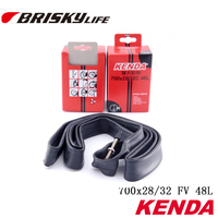 Free shipping Kenda inner tube 700x28/32 presta valve tubes 48mm long