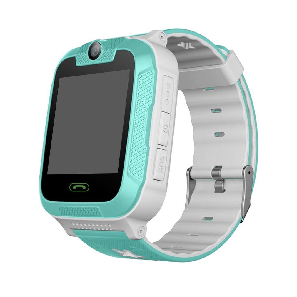 Enfants enfants jouet talkie-walkie montre intelligente 1.4 'écran tactile 3G podomètre SIM suivi en temps réel GPS poignet montre électronique Gf - 5