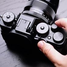Черный держатель для большого пальца горячий башмак Крышка для Fujifilm XT3 FUJI X-T3